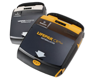 Medtronic Physio Control Lifepak CRPlus AED
